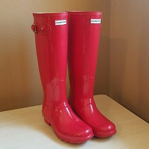Hunter Tall Glossy Rainboots